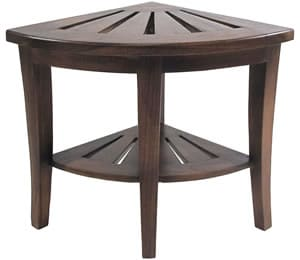 This Elegant Corner Shower Stool Is One Of The Best Pieces Redmon Has To Offer Besides Being Fairly Affordable Teak Looks