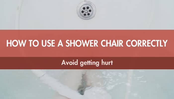 How to use shower bench correctly