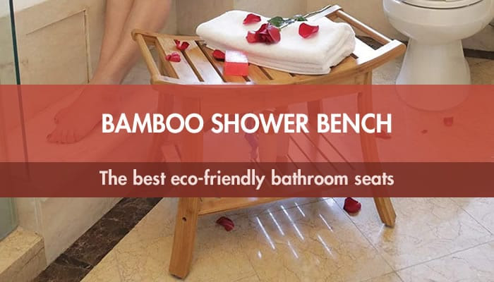 Bamboo shower benches