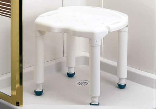 Large shower chair